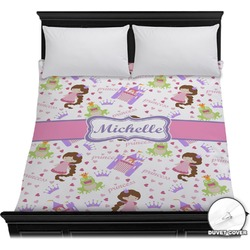 Princess Print Duvet Cover (Personalized)