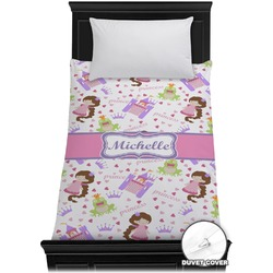 Princess Print Duvet Cover - Twin (Personalized)