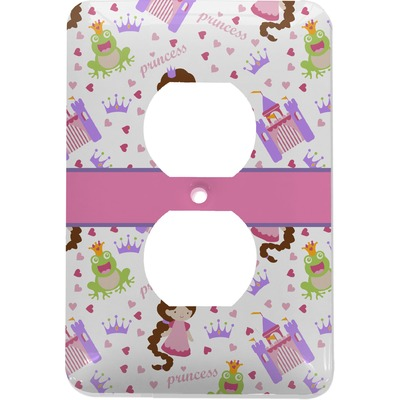 Princess Print Electric Outlet Plate (Personalized)