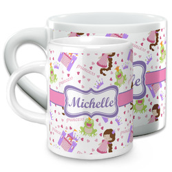 Princess Print Espresso Cups (Personalized)