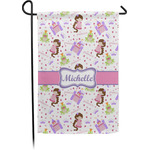 Princess Print Garden Flag (Personalized)
