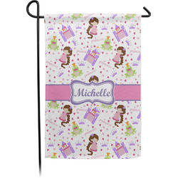 Princess Print Garden Flag - Single or Double Sided (Personalized)