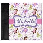 Princess Print Genuine Leather Baby Memory Book (Personalized)