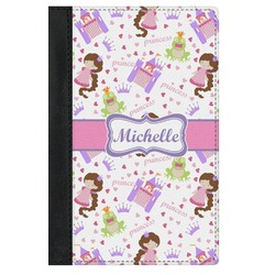 Princess Print Genuine Leather Passport Cover (Personalized)