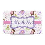 Princess Print Genuine Leather Small Framed Wallet (Personalized)