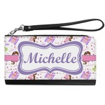 Princess Print Genuine Leather Smartphone Wrist Wallet (Personalized)