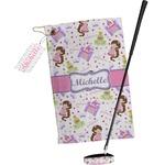 Princess Print Golf Towel Gift Set (Personalized)
