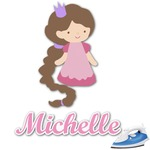 Princess Print Graphic Iron On Transfer (Personalized)