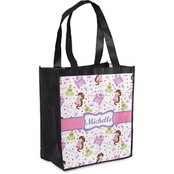 Princess Print Grocery Bag (Personalized)