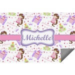 Princess Print Indoor / Outdoor Rug (Personalized)