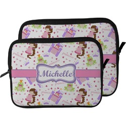 Princess Print Laptop Sleeve / Case (Personalized)