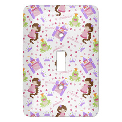Princess Print Light Switch Covers - Multiple Toggle Options Available (Personalized)