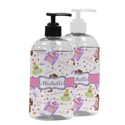 Princess Print Plastic Soap / Lotion Dispenser (Personalized)