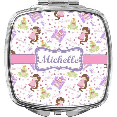 Princess Print Compact Makeup Mirror (Personalized)