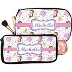 Princess Print Makeup / Cosmetic Bag (Personalized)
