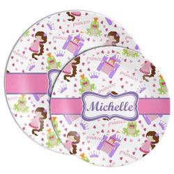 Princess Print Melamine Plate (Personalized)