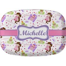 Princess Print Melamine Platter (Personalized)