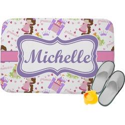 Princess Print Memory Foam Bath Mat (Personalized)
