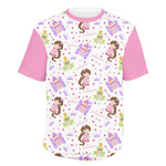 Princess Print Men's Crew T-Shirt (Personalized)