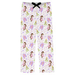 Princess Print Mens Pajama Pants (Personalized)