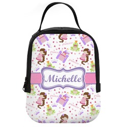 Princess Print Neoprene Lunch Tote (Personalized)