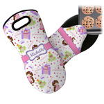 Princess Print Neoprene Oven Mitt (Personalized)