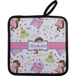 Princess Print Pot Holder w/ Name or Text