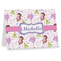 Princess Print Notecards (Personalized)