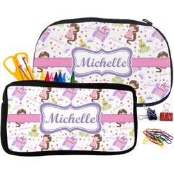 Princess Print Pencil / School Supplies Bag (Personalized)