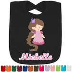 Princess Print Bib - Select Color (Personalized)