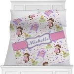 Princess Print Minky Blanket (Personalized)