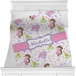 Princess Print Blanket (Personalized)