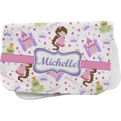 Princess Print Burp Cloth (Personalized)