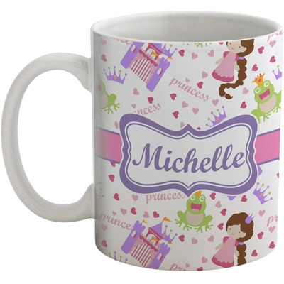 Princess Print Coffee Mug (Personalized)