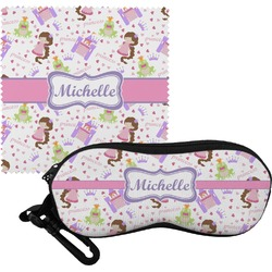 Princess Print Eyeglass Case & Cloth (Personalized)