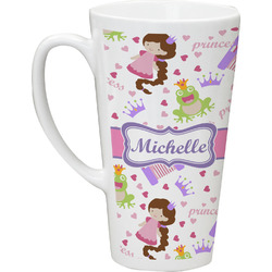Princess Print Latte Mug (Personalized)