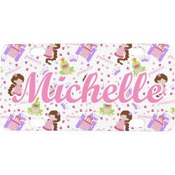 Princess Print Mini / Bicycle License Plate (Personalized)