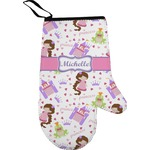 Princess Print Right Oven Mitt (Personalized)