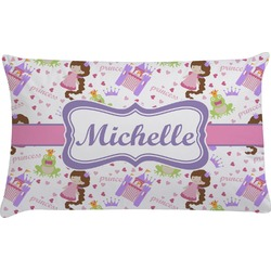 Princess Print Pillow Case (Personalized)