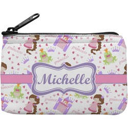 Princess Print Rectangular Coin Purse (Personalized)