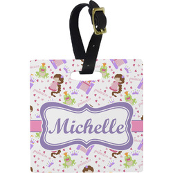 Princess Print Luggage Tags (Personalized)