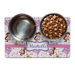 Princess Print Dog Food Mat (Personalized)