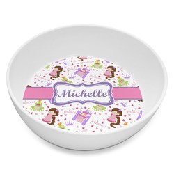 Princess Print Melamine Bowl 8oz (Personalized)