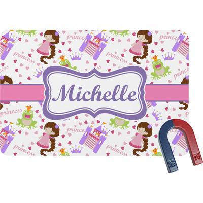 Princess Print Rectangular Fridge Magnet (Personalized)