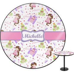 "Princess Print Round Table - 30"" (Personalized)"
