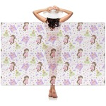 Princess Print Sheer Sarong (Personalized)