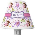 Princess Print Shade Night Light (Personalized)