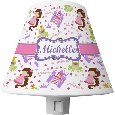 Princess Print Shade Night Light (Personalized)
