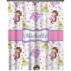 """Princess Print Extra Long Shower Curtain - 70""""x84"""" (Personalized)"""