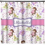 Princess Print Shower Curtain (Personalized)